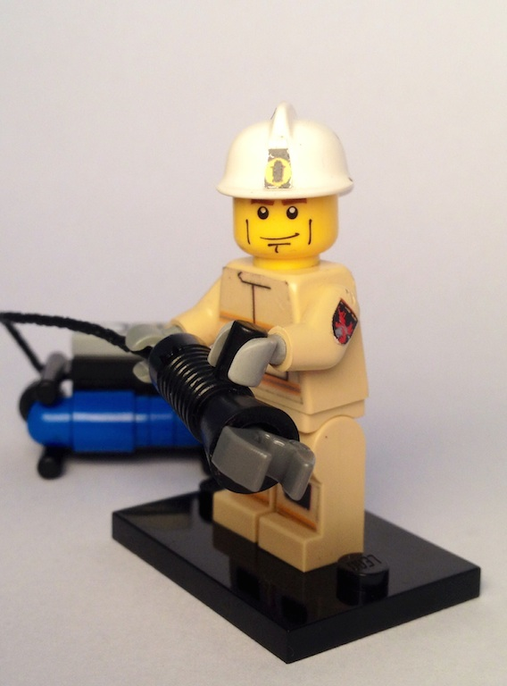Hydraulic Extrication Tools Minifig Customisation