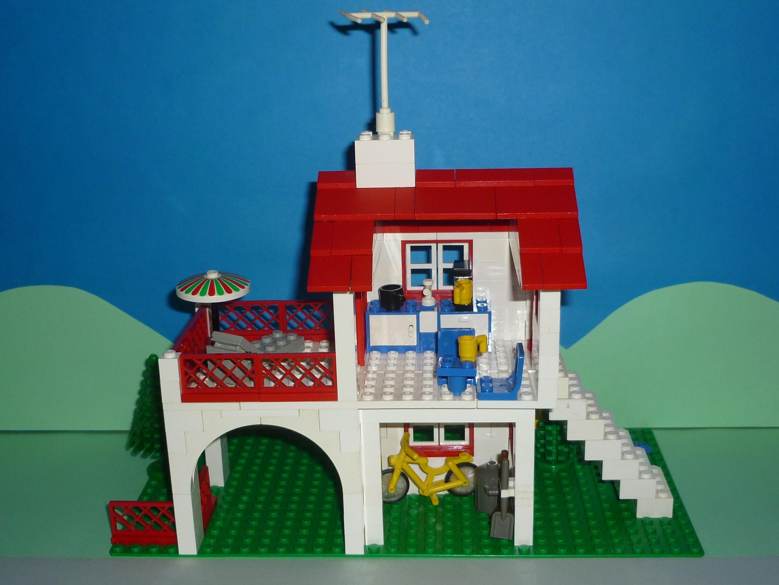 Moc 350 spanish villa bricksafe for Lego house original