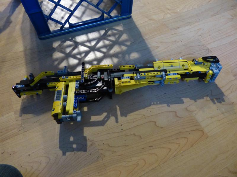 Lego Rubber Band Gun - Bricksafe
