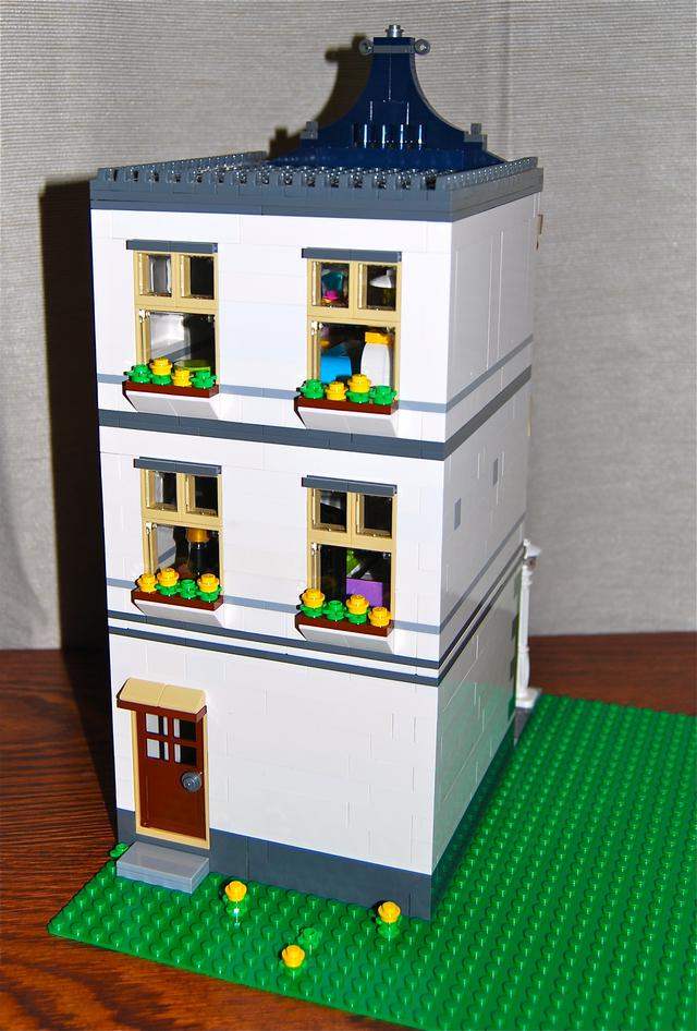 Mod Modular Toy Amp Grocery Shop 31036 Lego Town