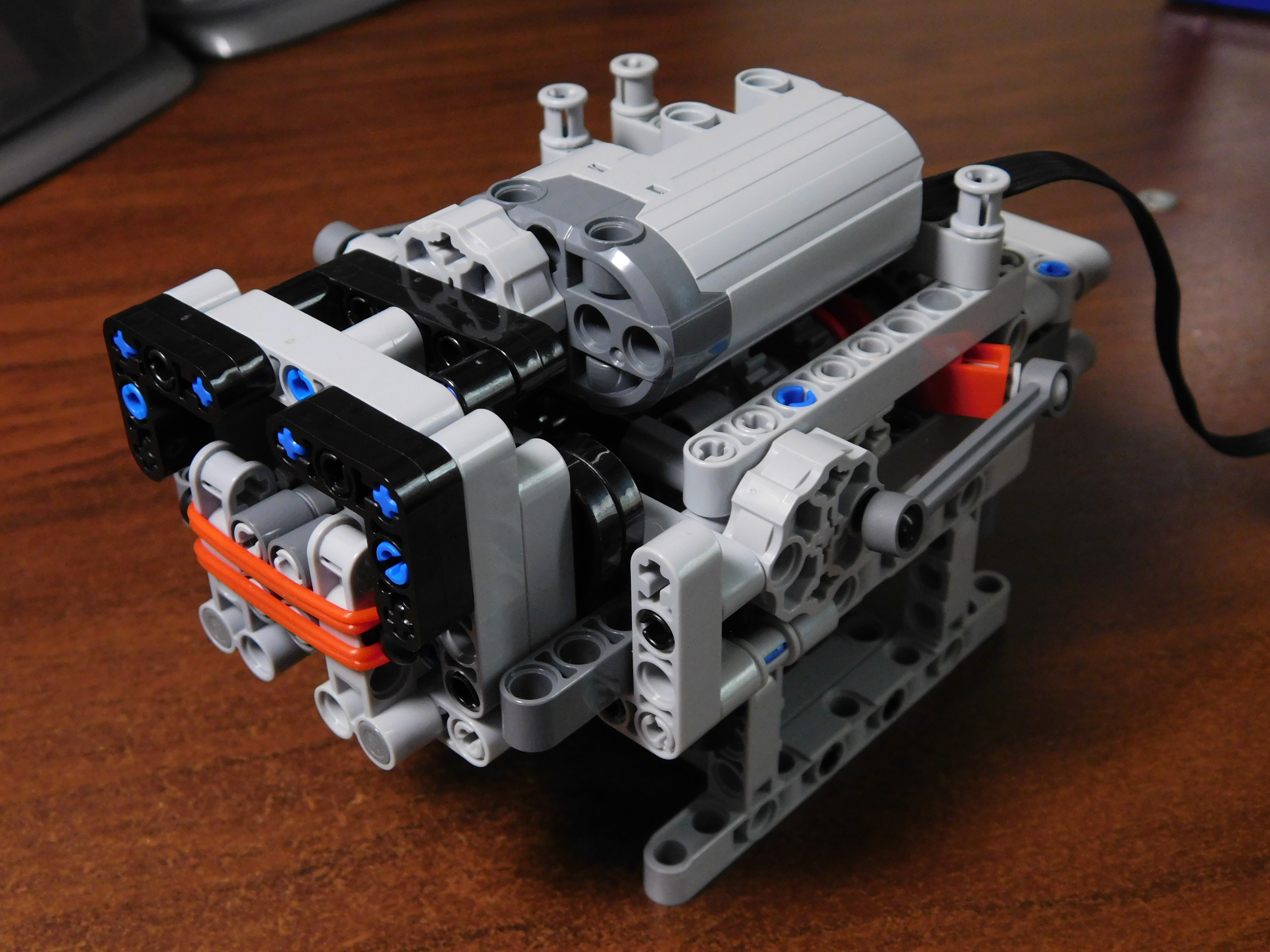 Sequential Rc 4 Speed Dual Clutch Gearbox With Pf Servo Motor Bricksafe
