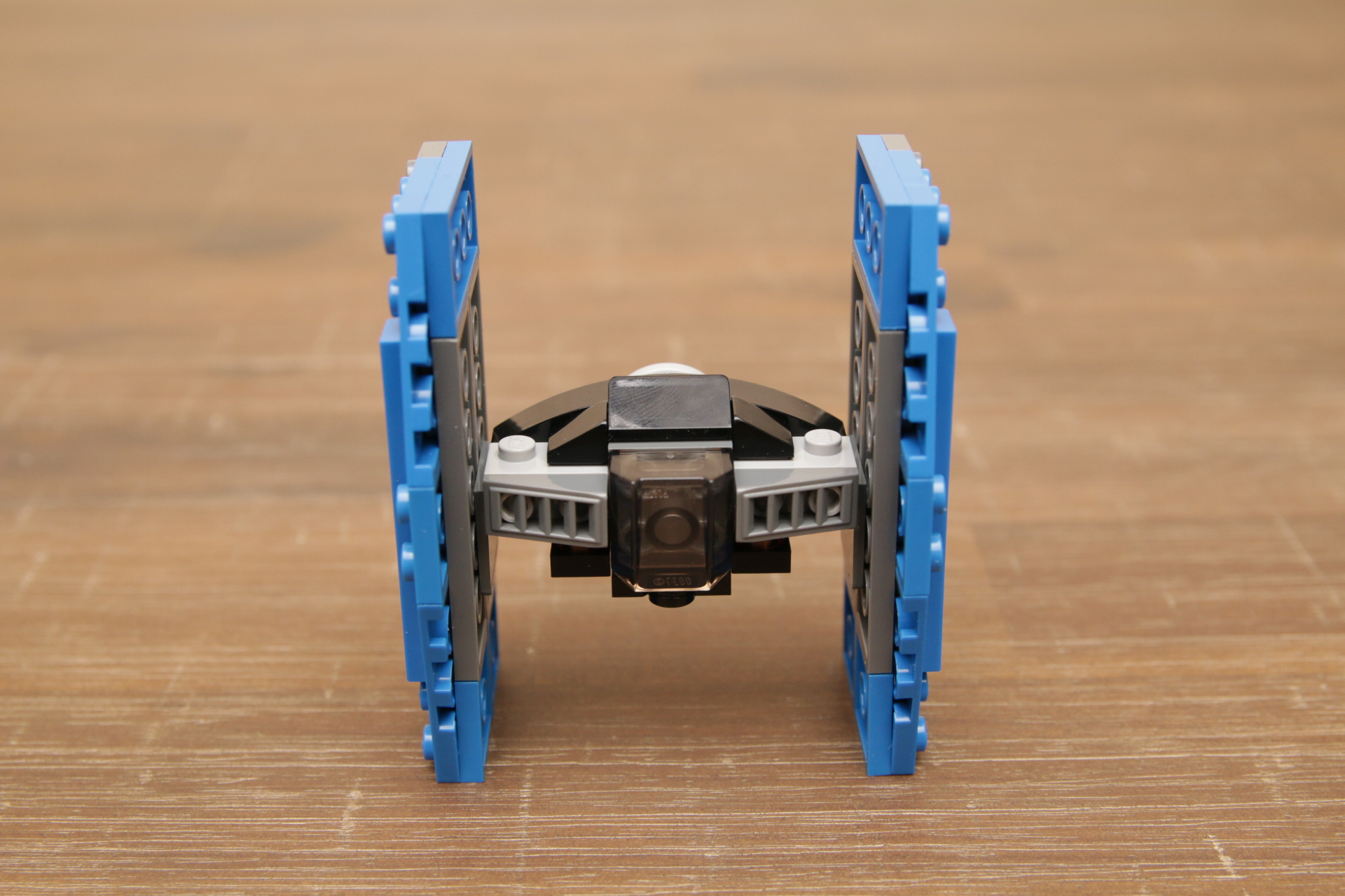 mini tie fighter lego instructions