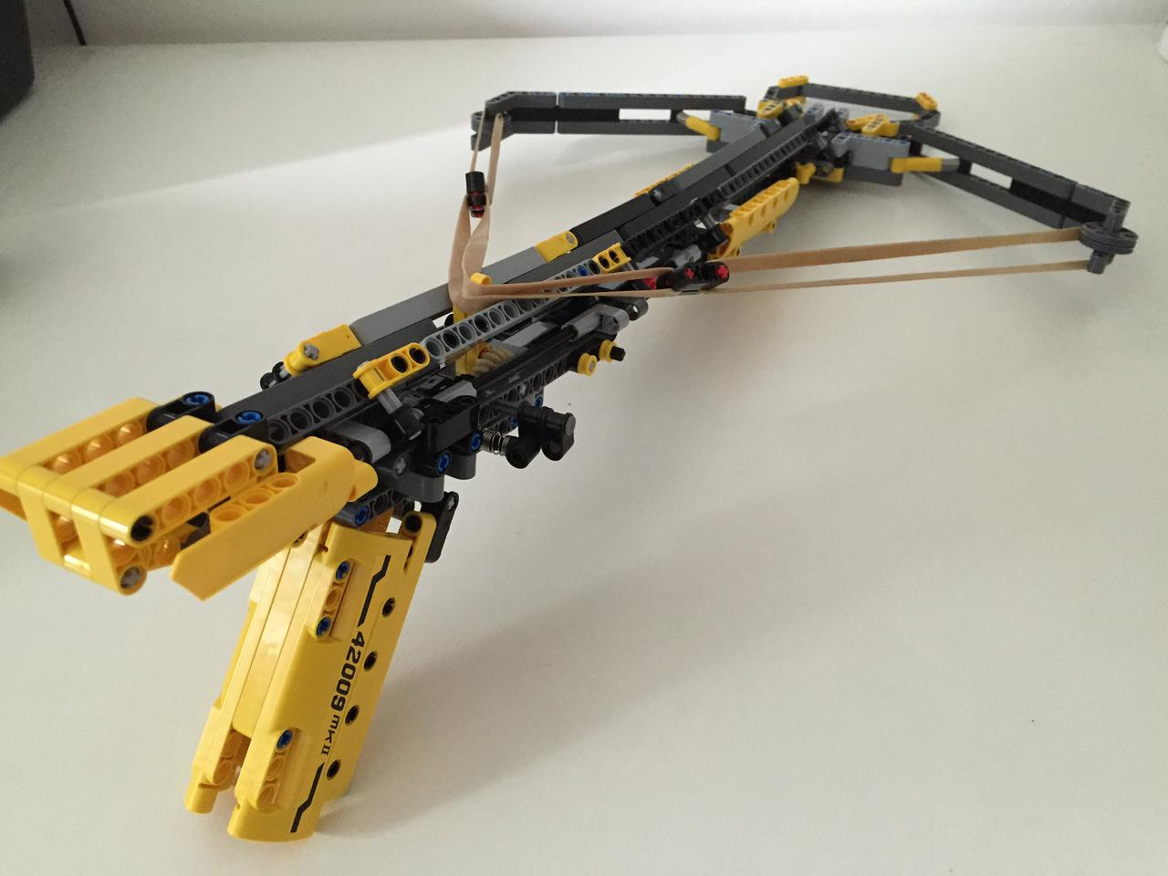 lego technic crossbow instructions
