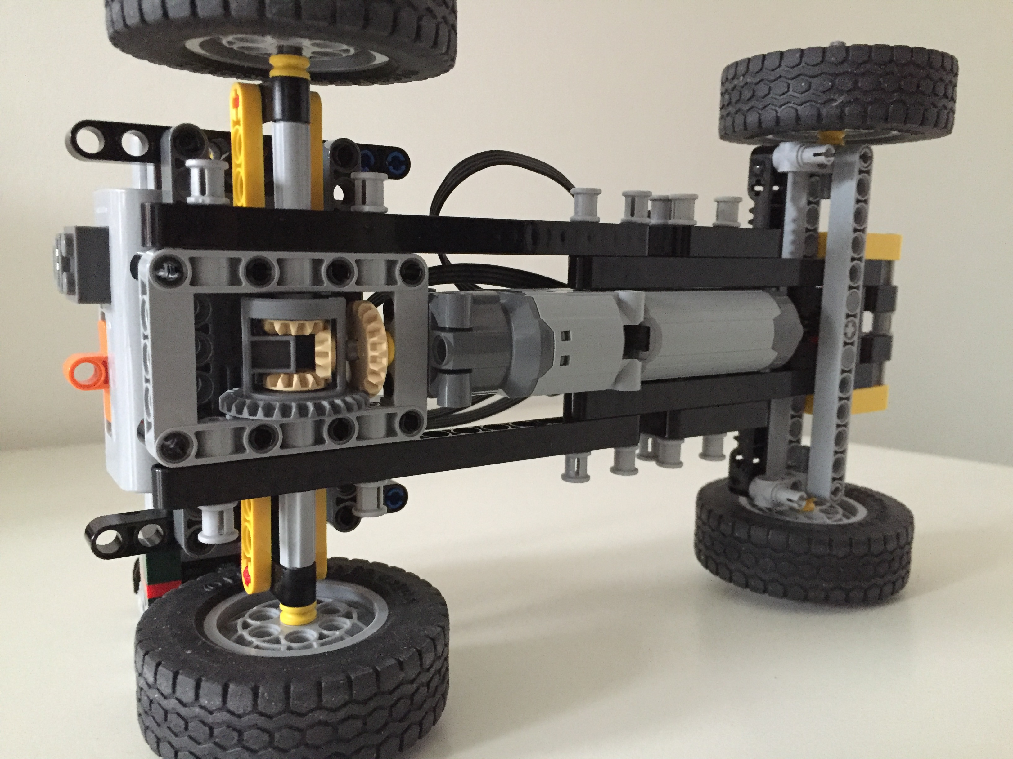 Lego Moc 3925 Rc Car Frame Technic 2015 Rebrickable Build
