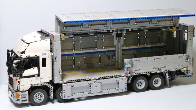 Madoka's Wing Body Truck MOC