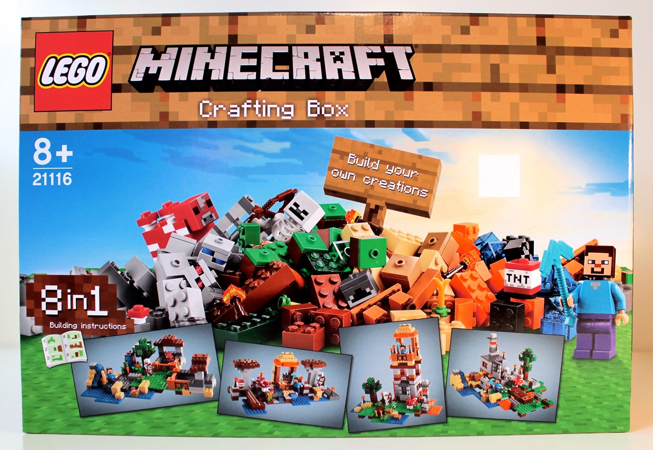 Review 21116 Minecraft Crafting Box Rebrickable Build With Lego