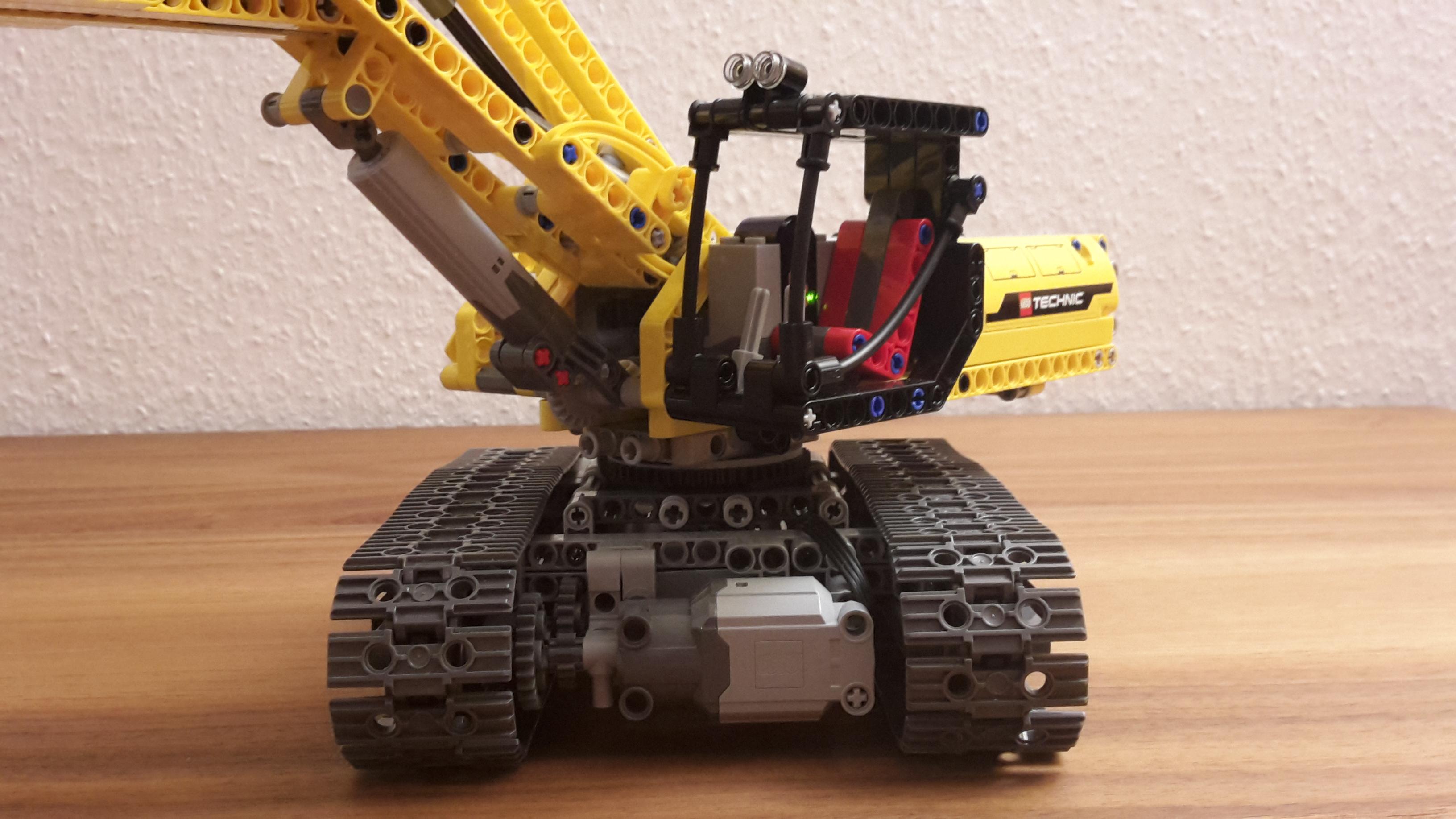 42006 Excavator Moc Rc Bricksafe