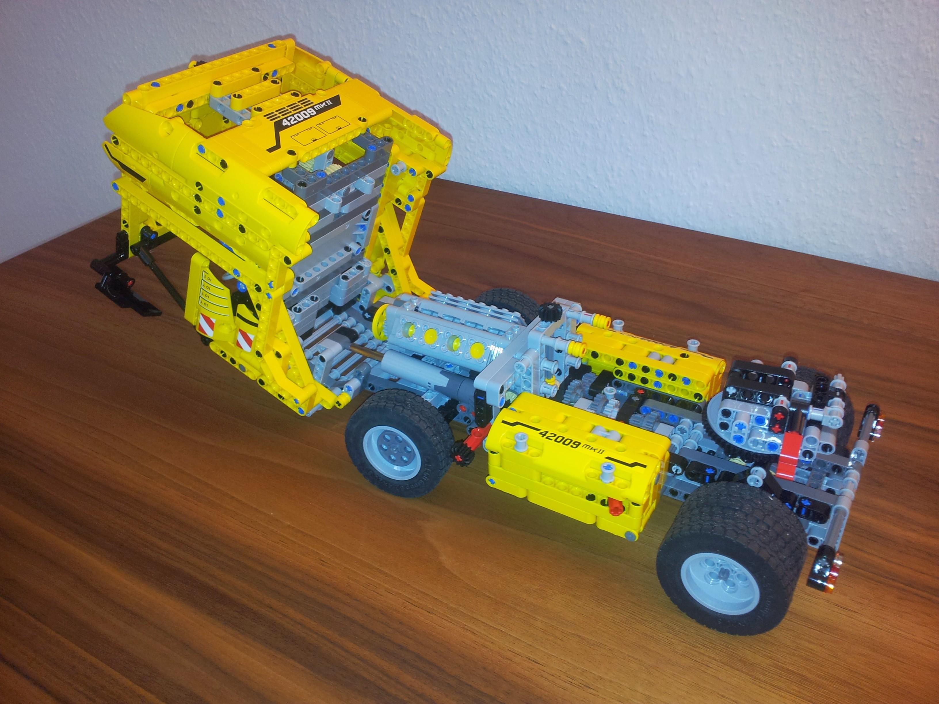 Lego mobile crane mk ii instructions 42009, technic.