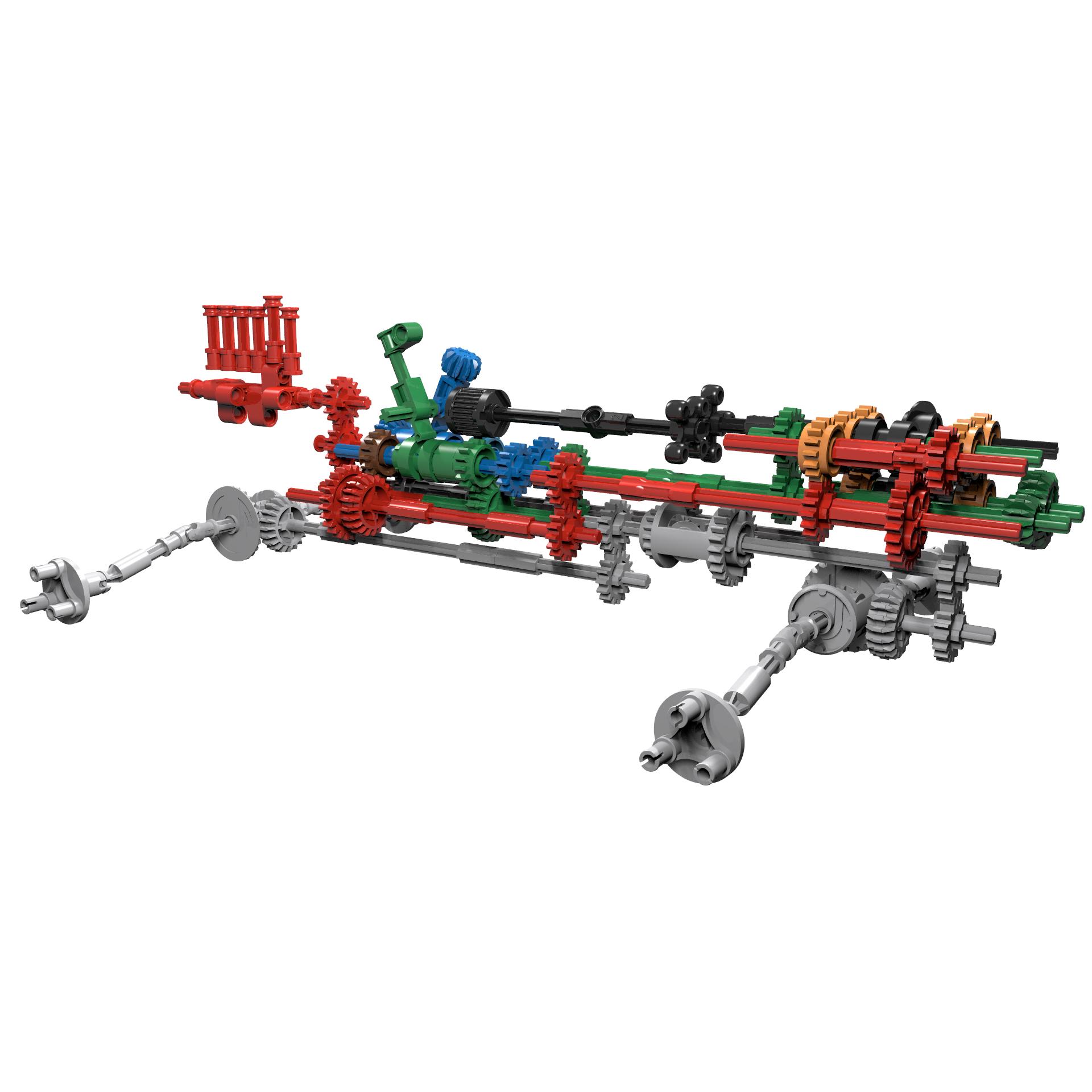 LEGO MOC-31299 42110 Pimp Up My Land Rover (Technic 2019