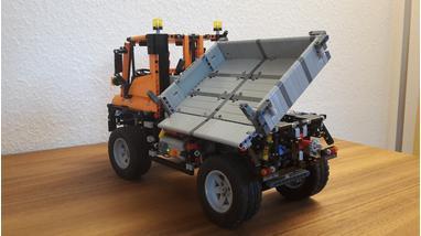 Lego Moc 3286 8110 Unimog Moc Rc Technic 2015 Rebrickable
