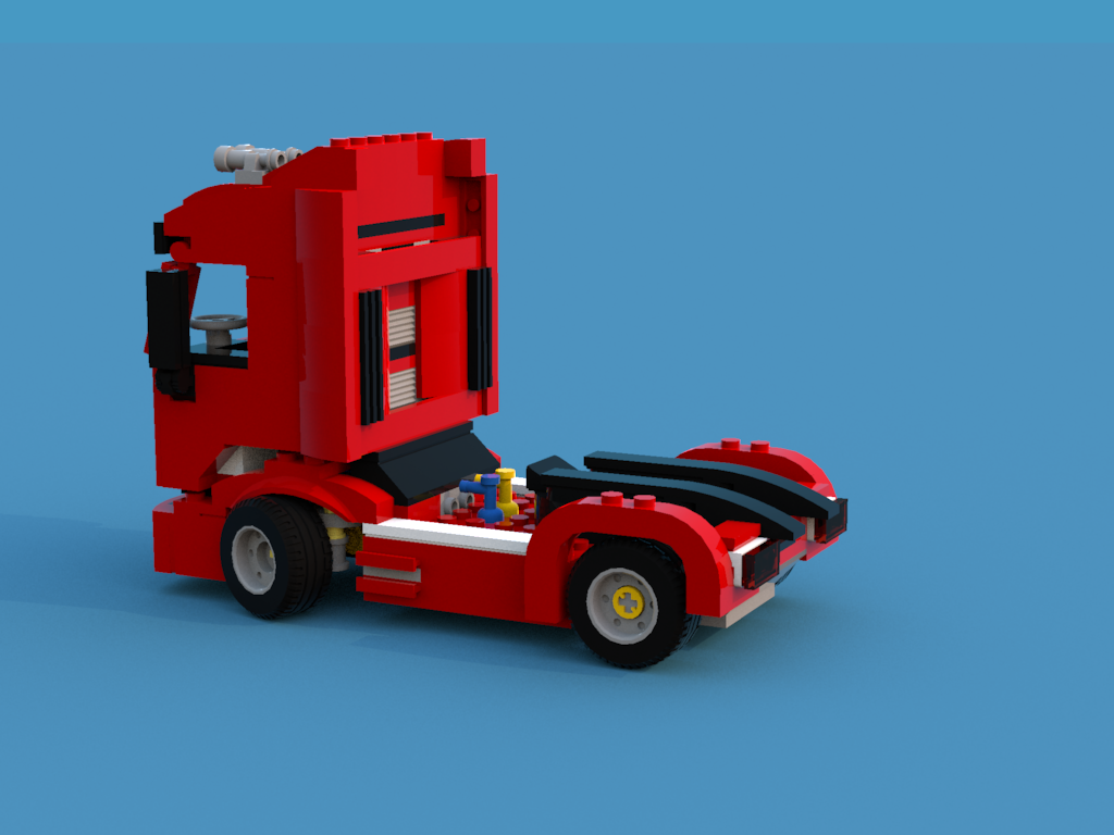 75913 scuderia ferrari truck custom bricksafe. Black Bedroom Furniture Sets. Home Design Ideas