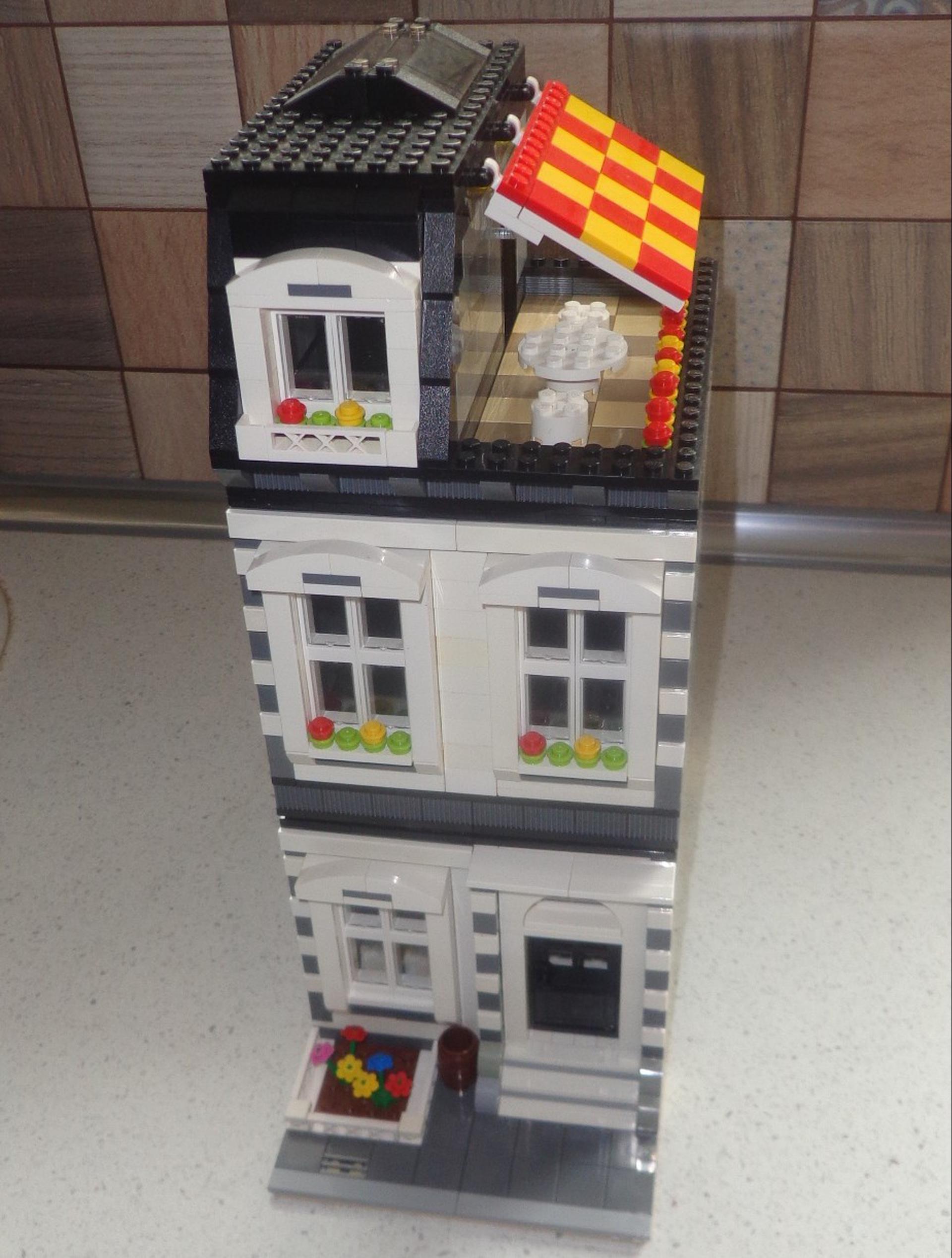 Как сделать здания из лего