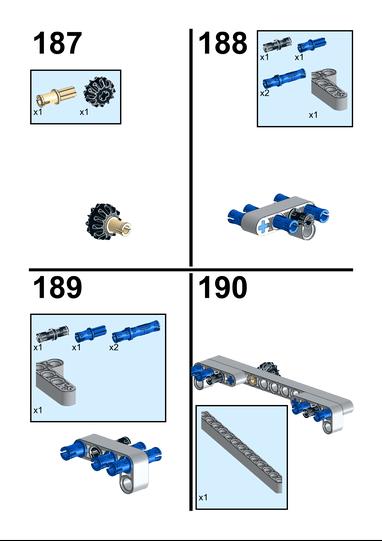 Lego Moc 16682 Alternative Motorized Tipper For 42043 Mercedes Benz