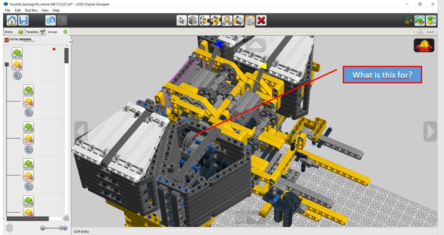 Lego Moc 5721 Ltm 1750 91 Technic 2016 Rebrickable Build With