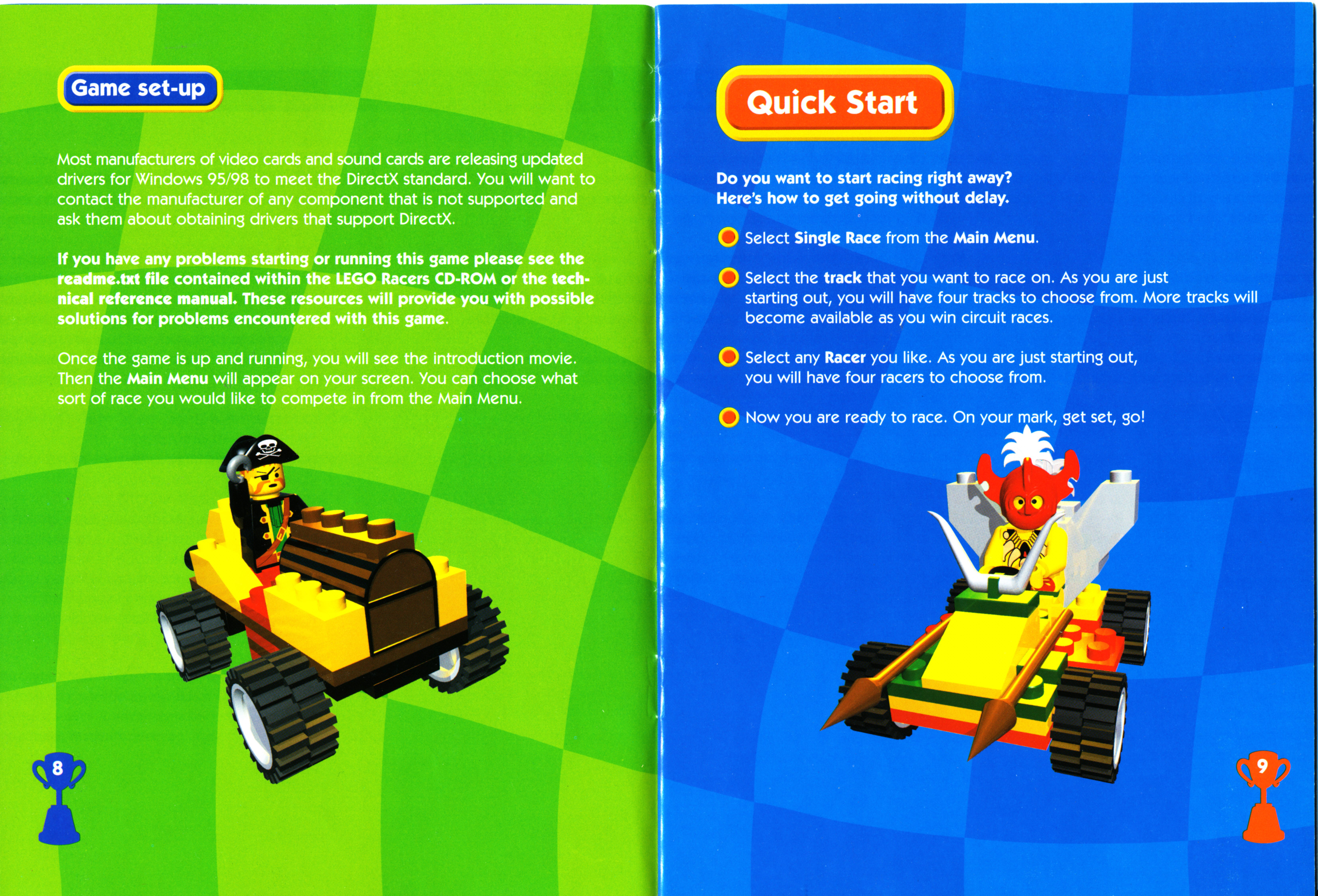 Lego Gaminglego Racersmanualjpg Bricksafe