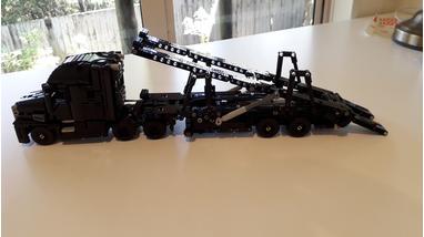 LEGO MOC-23814 Car Carrier for Mini Mack Anthem (Technic
