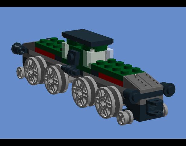 Lego Moc 9275 2x31015 Crocodile Creator Basic Model Train 2017