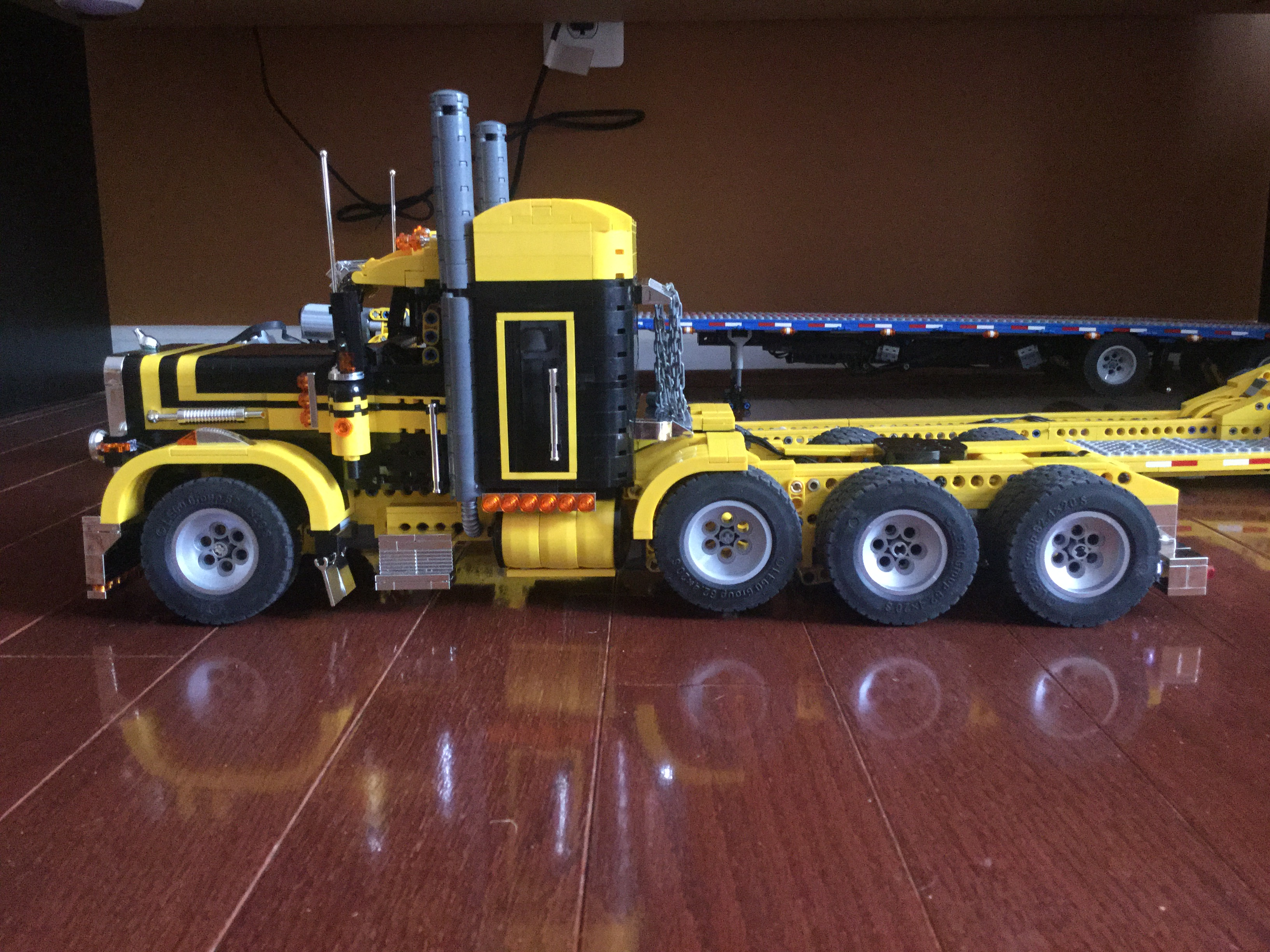 2legoornot2lego s pages bricksafe - Kenworth W900 In The Style Of Set 5580 2 Lego Pinterest Lego Photos And Putting It Together