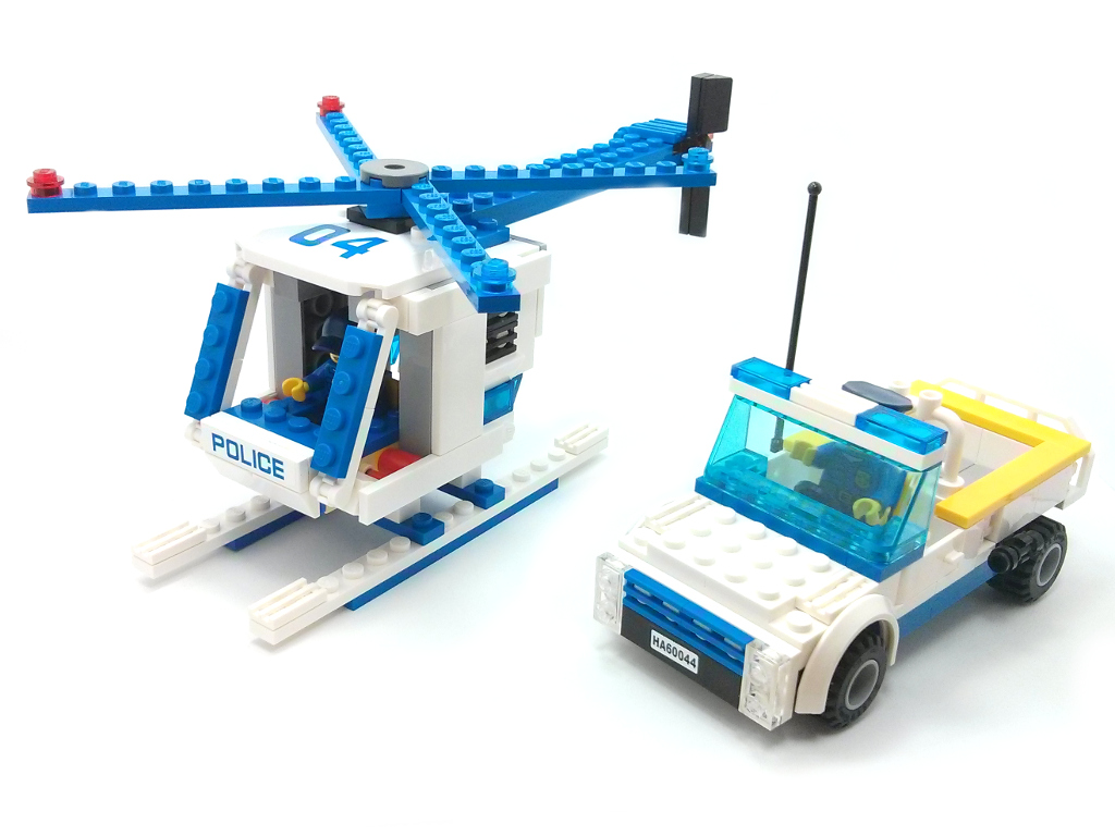 lego police truck instructions 60044