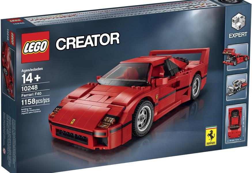 review 10248 ferrari f40 rebrickable build with lego. Black Bedroom Furniture Sets. Home Design Ideas