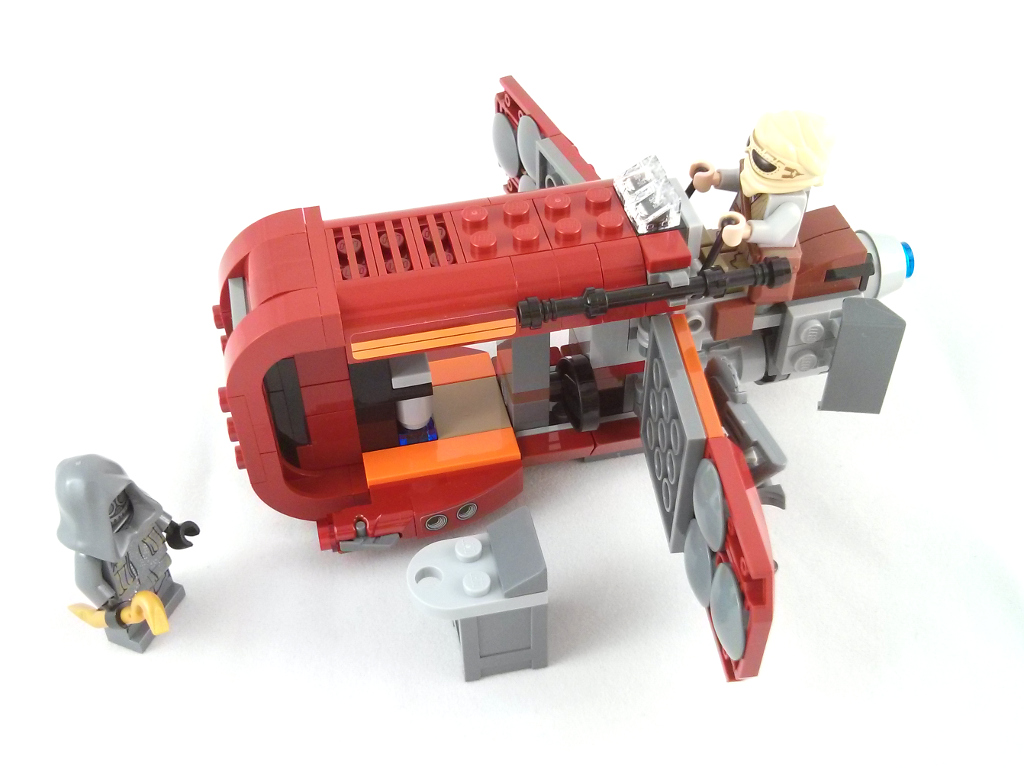 Review 75099 Rey S Speeder Rebrickable Build With Lego