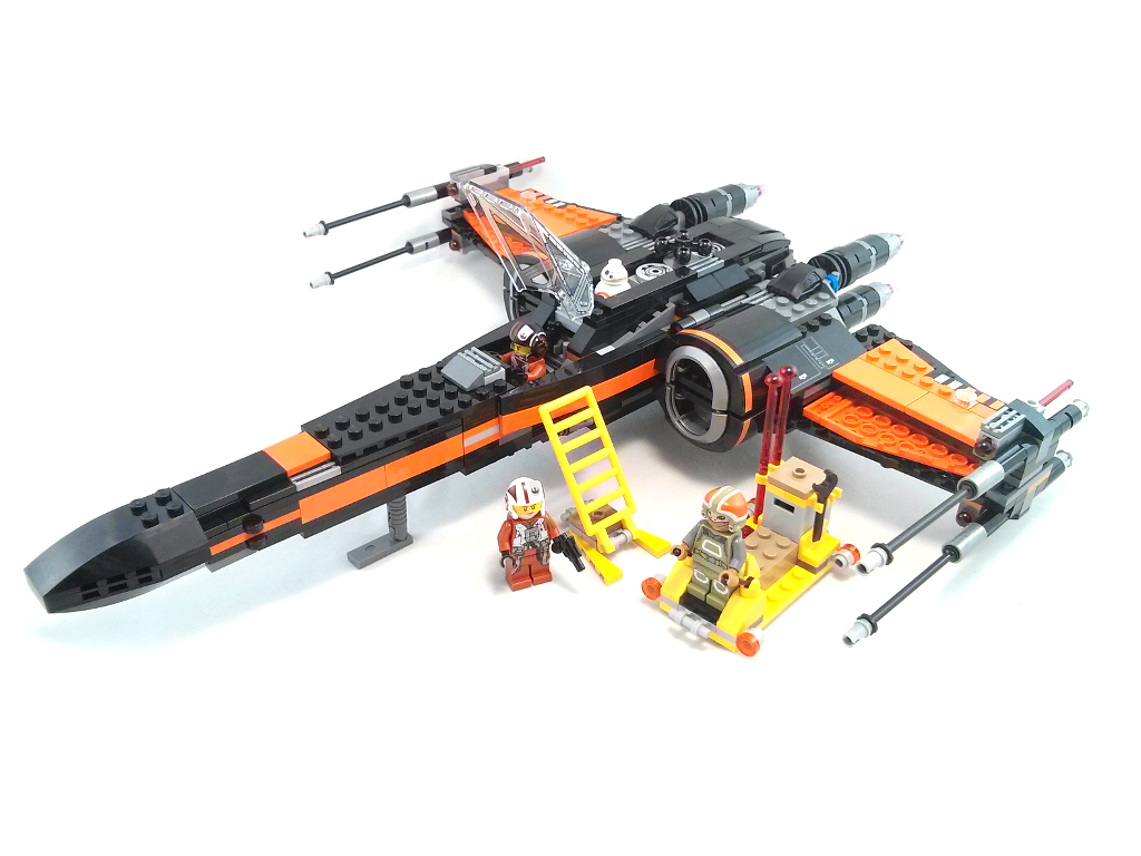 Review 75102 Poes X Wing Fighter Rebrickable Build With Lego