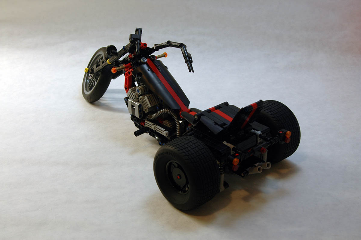Technic moc 6385 custom trike by muffinbrick mocbrickland