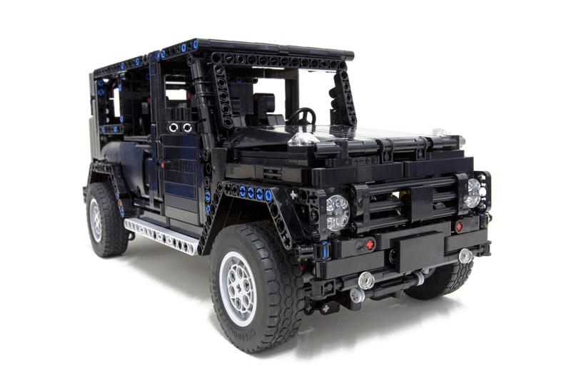 moc lego technic g500 awd wagon building instructions. Black Bedroom Furniture Sets. Home Design Ideas
