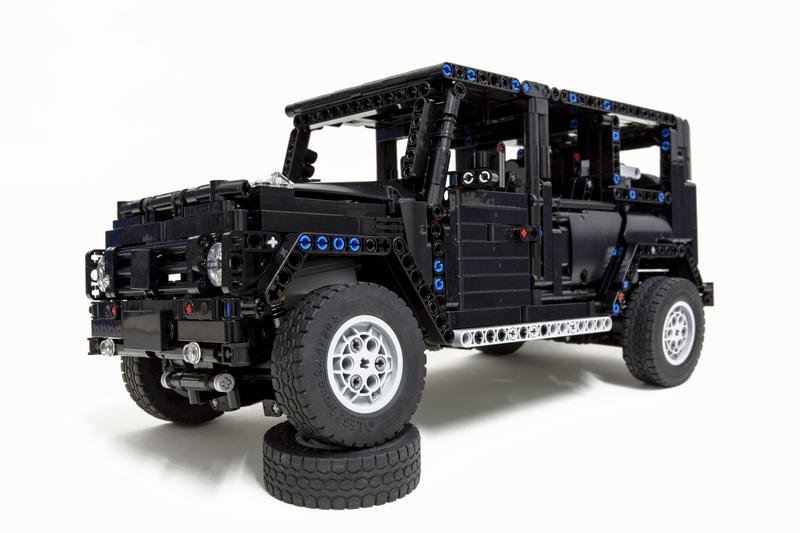 lego moc 2425 lego technic g500 awd wagon technic 2015. Black Bedroom Furniture Sets. Home Design Ideas