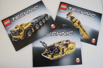 LEGO Technic 42009 Instruction Manuals