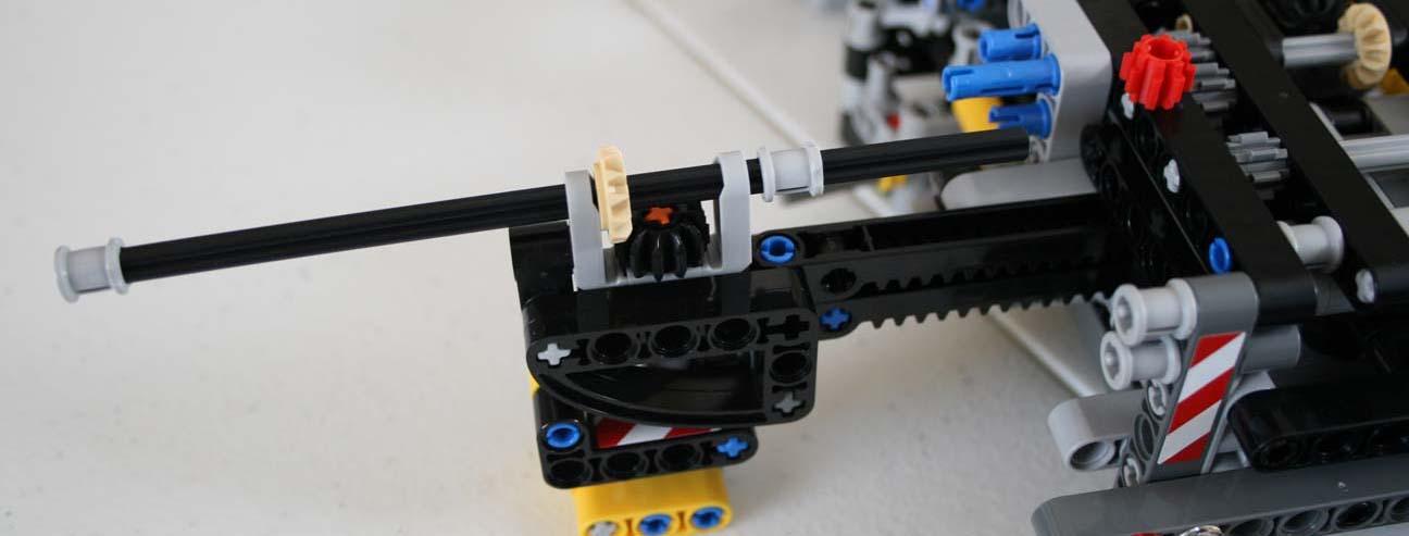 LEGO 42009 Bent Axle 16