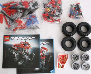 LEGO Technic 42005 Box Contents