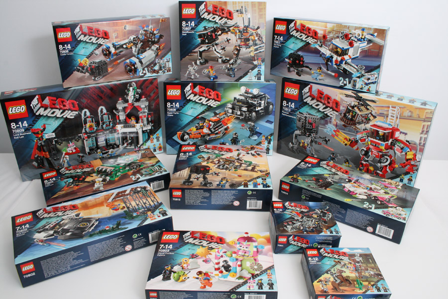 LEGO Movie Sets 1HY 2014