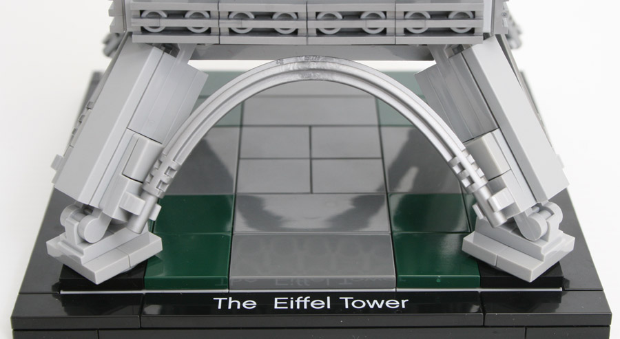 review - 21019 eiffel tower | rebrickable - build with lego