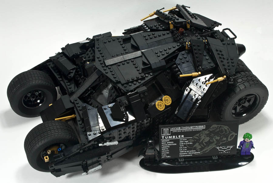 review 76023 batman tumbler rebrickable build with lego