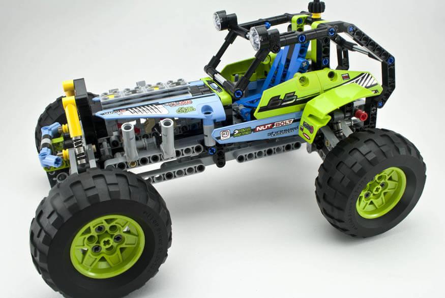 Review 42037 Formula Off Roader Rebrickable Build With Lego