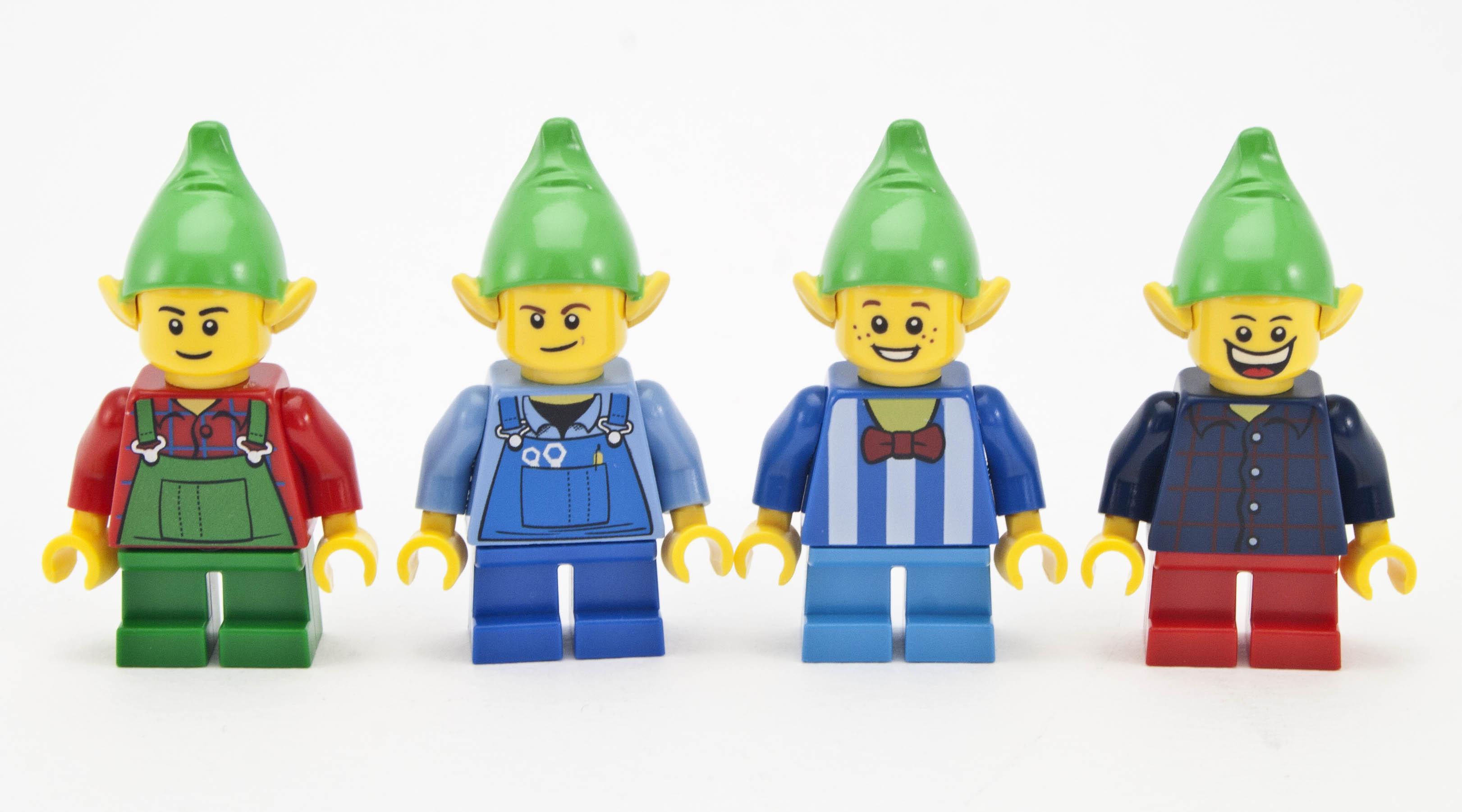 Lego Sack review 10245 santa s workshop rebrickable build with lego