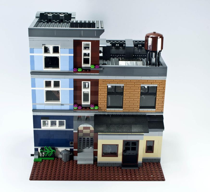 Review - 10246 Detective's Office | Rebrickable - Build with LEGO