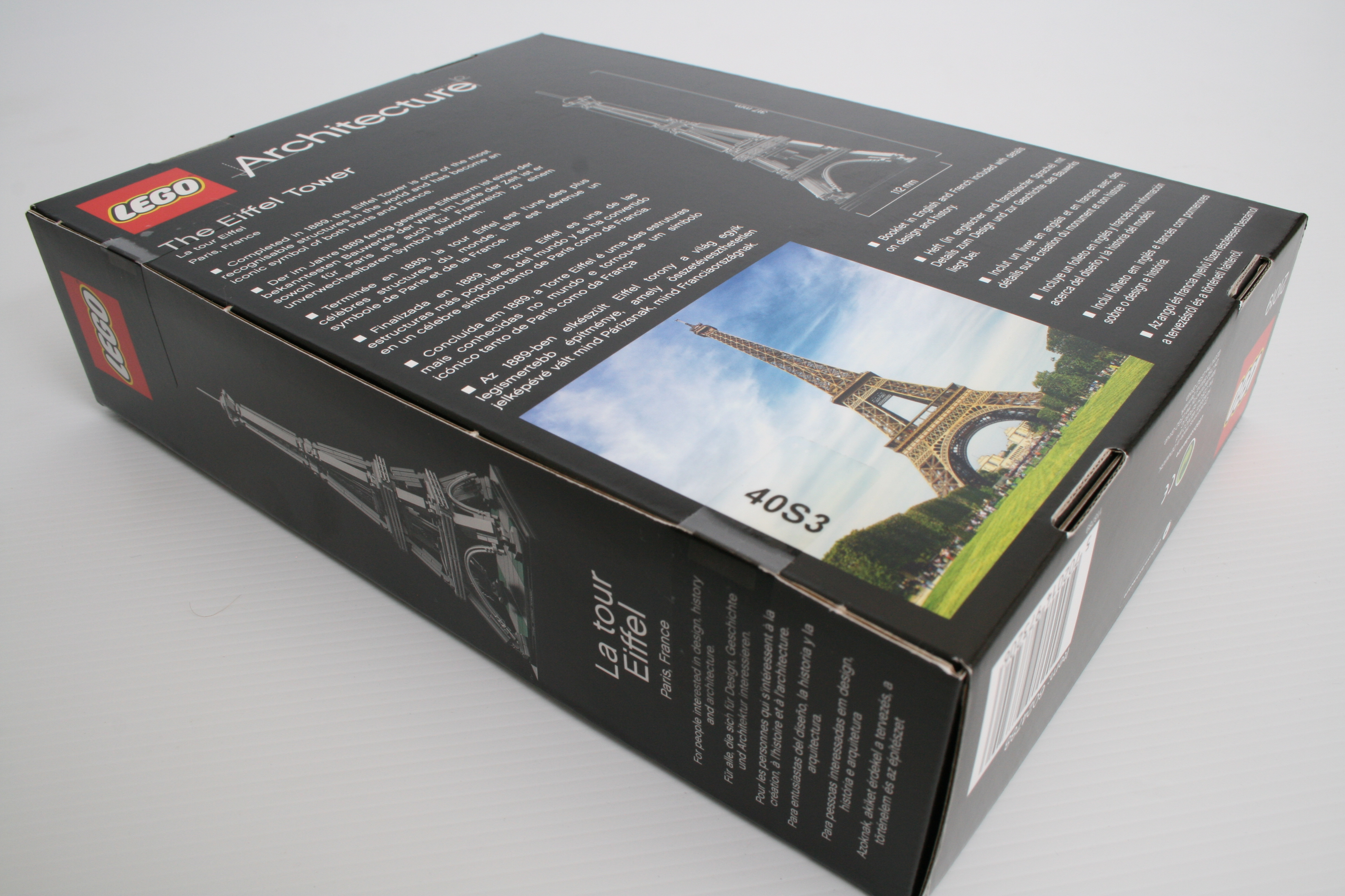 lego architecture eiffel tower instructions