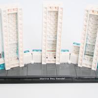 how to build marina bay sands model