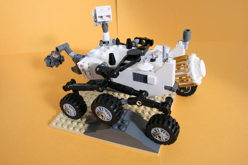Lego 21104 Mars Science Laboratory Curiosity Rover Bricksafe
