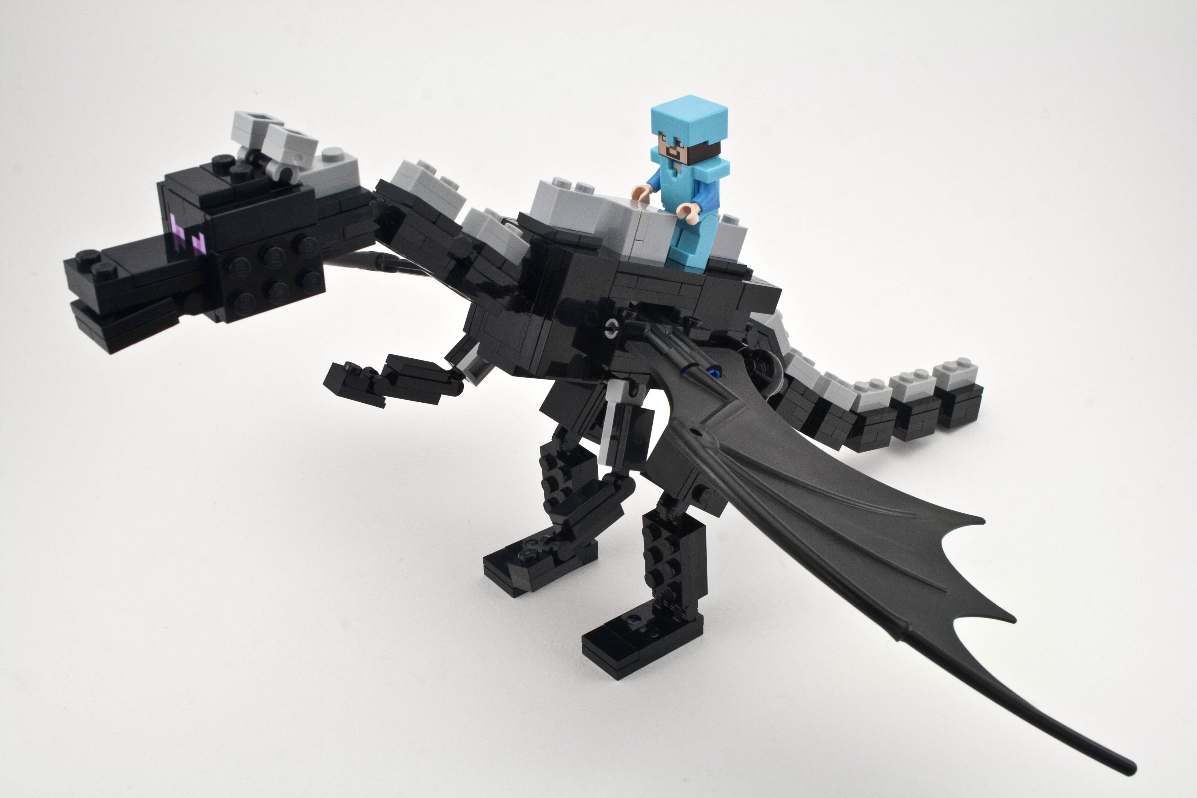Review 21117 minecraft the ender dragon rebrickable build with lego - Image de dragon ...