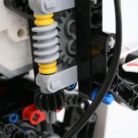 Review 31313 mindstorms ev3 ev3rstorm part 3 for Ev3 medium motor arm
