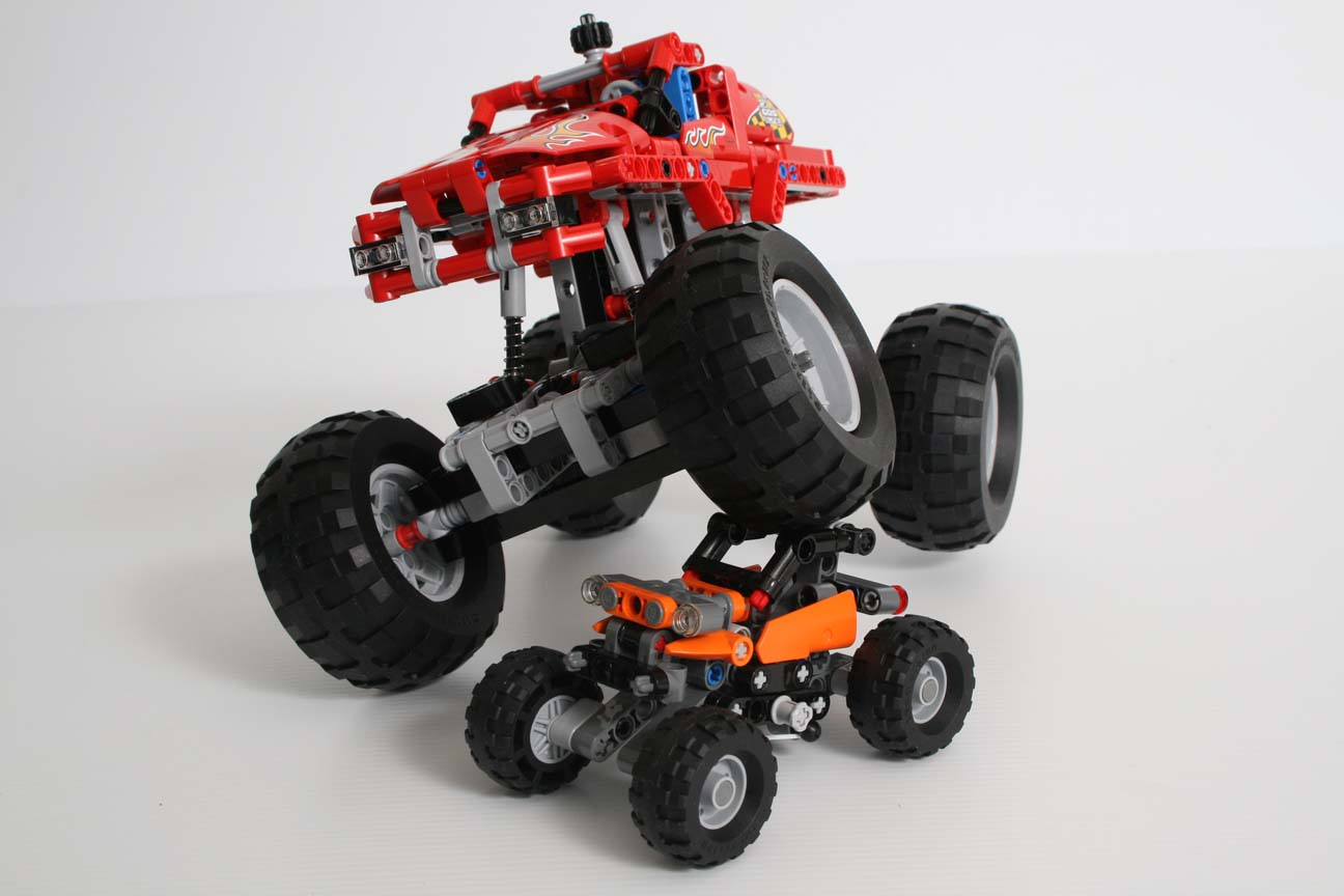 lego review 42001 mini off roader rebrickable build. Black Bedroom Furniture Sets. Home Design Ideas