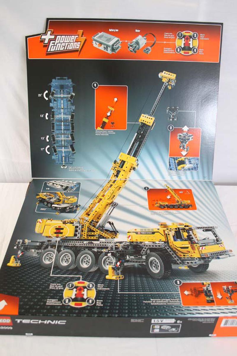 lego 42009 mobile crane mkii bricksafe. Black Bedroom Furniture Sets. Home Design Ideas