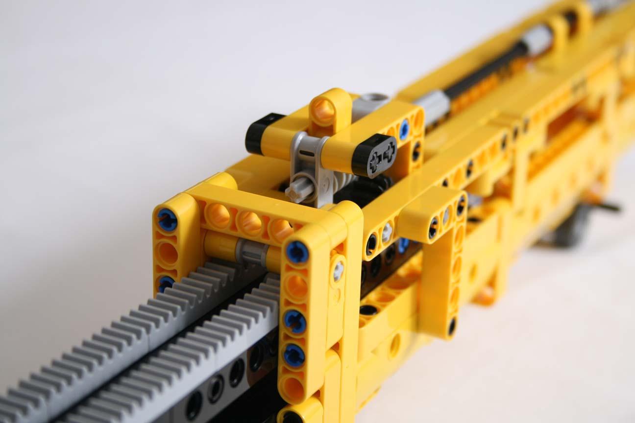Lego technic 42009 mobile crane mkii boom arm