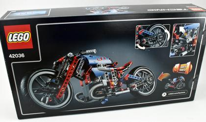 Review - 42036 Street Motorcycle | Rebrickable - Build with LEGO