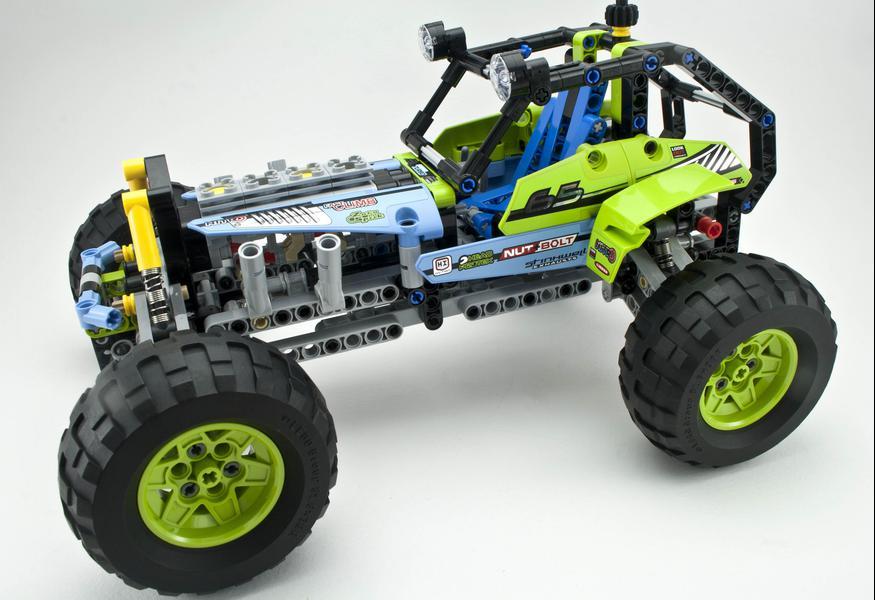 2015 Lego Technic Model 42037 Formula Off Roader INSTRUCTION MANUAL STICKER ONLY