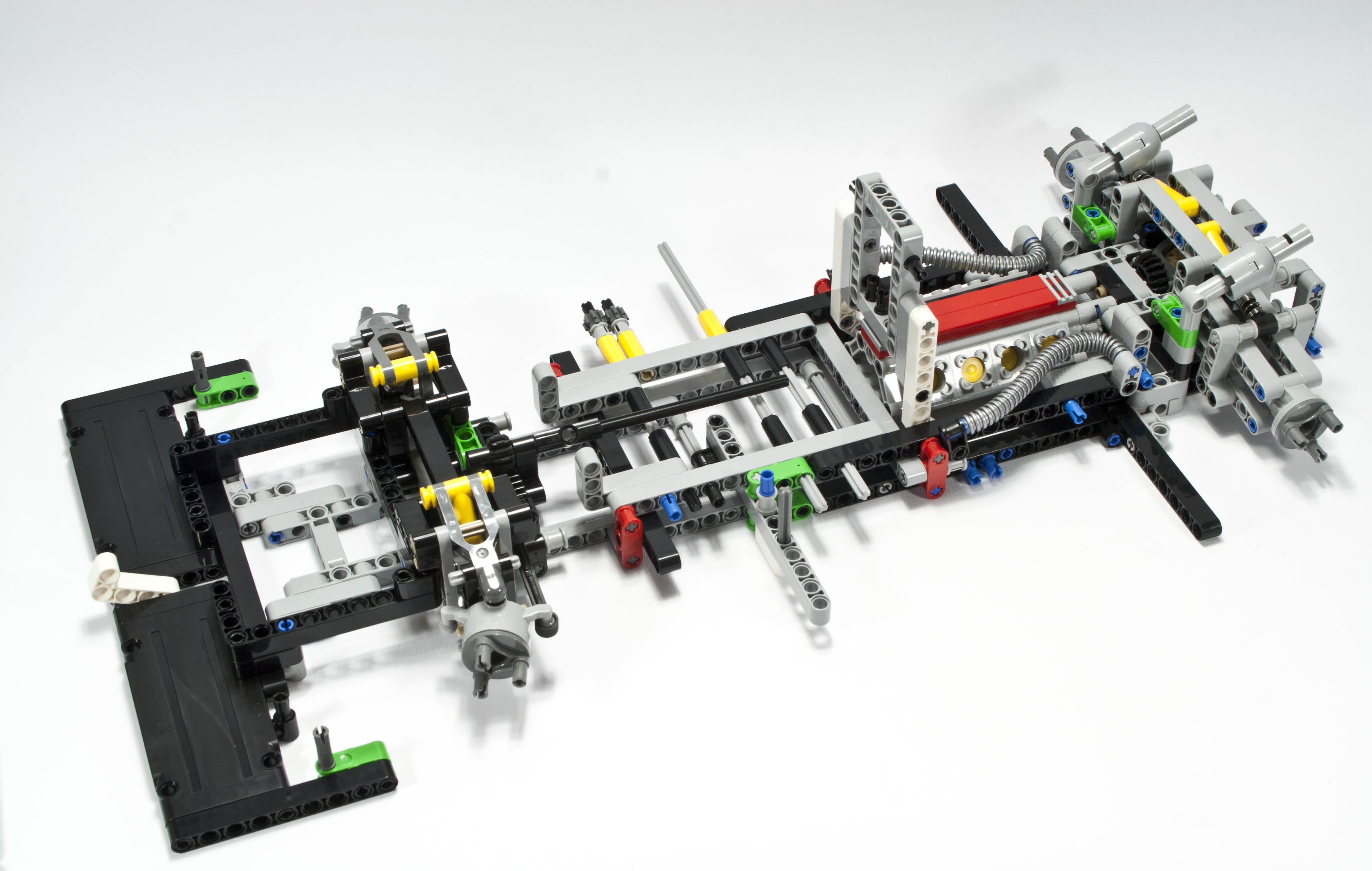 Review 42039 24 Hours Race Car Rebrickable Build With Lego