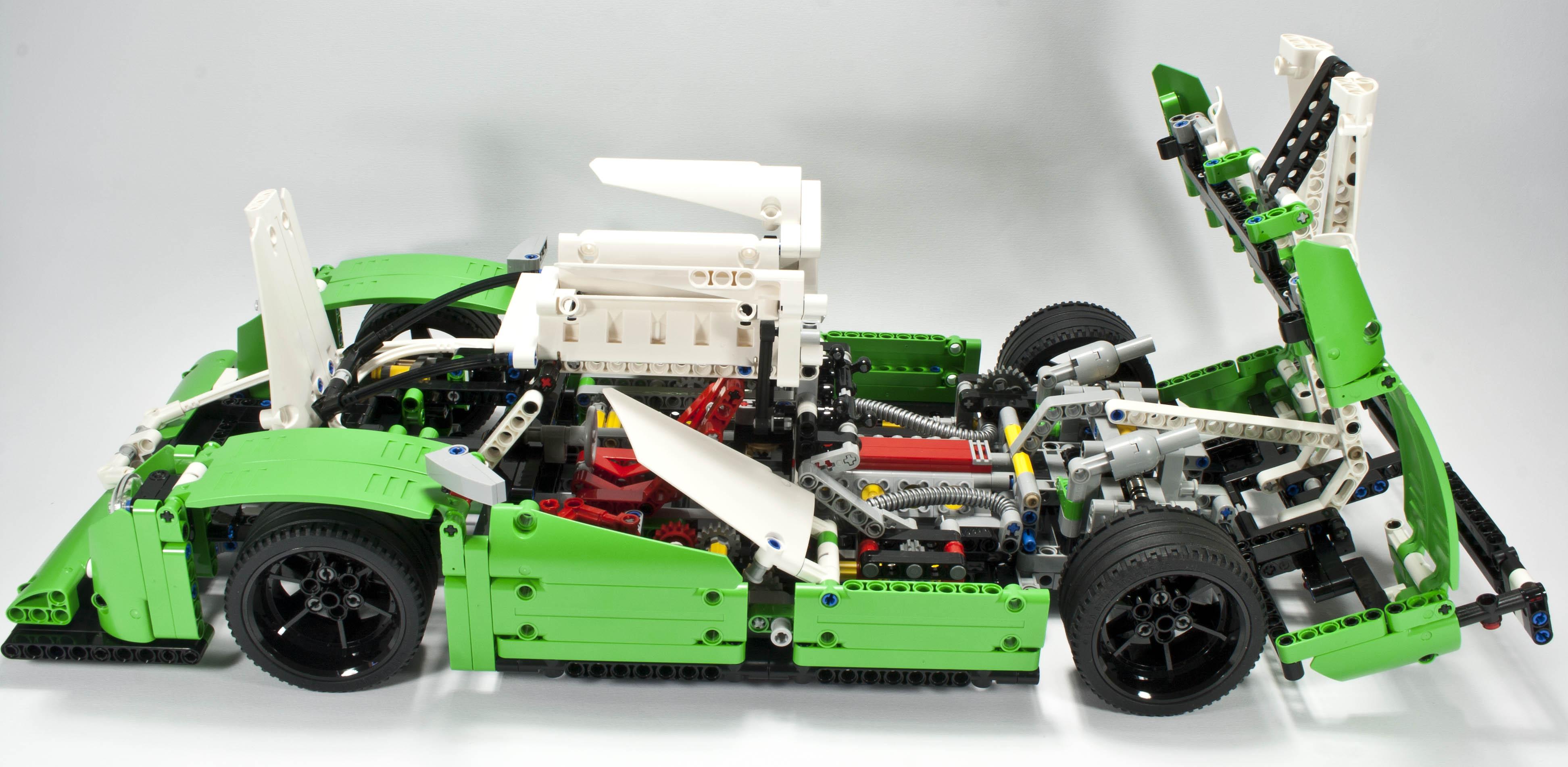 How Do You Build A Lego Race Car